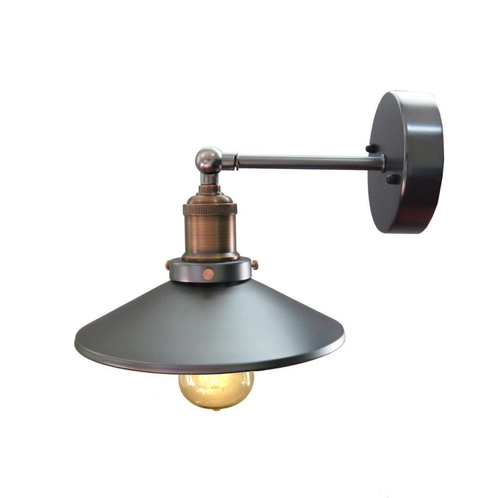 Светильник из стали